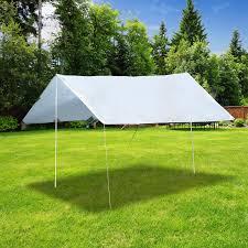 Tent Awning Outsunny14 U0027x11 5 U0027 Hammock Tarp Shelter Waterproof Uv Protected