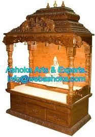 pooja mandapam designs wooden mandir manufacturer from udaipur