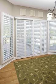 Plantation Shutters For Patio Doors Curtain Shade Curtains And Plantation Shutters For Sliding Glass