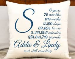 6 year anniversary gift ideas for 6 year anniversary etsy