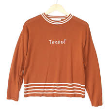 ut of longhorns tacky sweater the