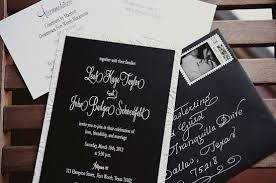 wedding invitations black and white black wedding invitations plumegiant
