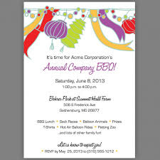 corporate luncheon invitation wording stunning lanterns themed bbq sle party invitation with white