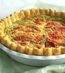recipe tomato and goat cheese quiche and flakey pastry dough joy