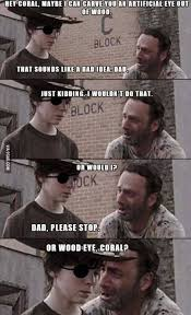 Carl Walking Dead Meme - 15 of the most inappropriate walking dead tumblr posts you ll ever see