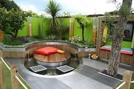 Terraced Patio Designs Balcony Garden Design Ideas Cool Step Deck Lighting Adorable