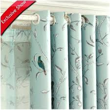 Curtains Birds Theme White Curtains With Birds On Them Curtains Birds Theme Sheer