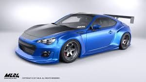subaru rsti widebody ml24 automotive design prototyping and body kits