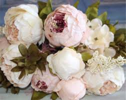 Fake Flowers For Wedding - artificial flowers etsy