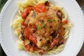 elegant dinner recipes chicken cacciatore cook diary