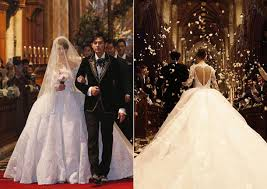 Valentino Wedding Dresses 12 Stunning Celebrity Wedding Gowns Of 2015 Asia Wedding Network