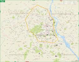 New Delhi Metro Rail Map by Arriving At Iws