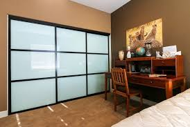 Mirror Sliding Closet Doors For Bedrooms Custom Wood Sliding Closet Doors Mirror Lowes Solid Interior