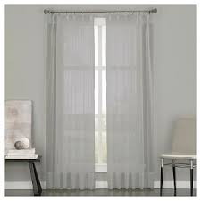 How To Wash Lace Curtains Pinch Pleated Sheer Curtains Target