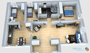 Outstanding 3d Floor Plans For Houses Contemporary Best Idea House Plan Designs In 3d