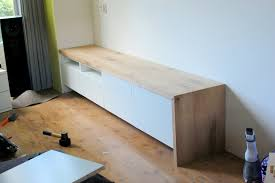 besta tv stand with seating option ikea hackers ikea hackers
