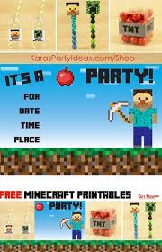 109 best minecraft images on pinterest minecraft birthday party