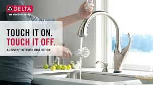 delta touchless kitchen faucet delta touch kitchen faucet jannamo