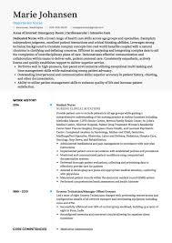 best resume format for nurses nursing cv exles and template