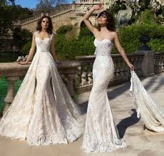 2 wedding dress 2017 lace wedding dresses with detachable skirt sweetheart