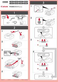 canon printer manuals canon pixma mx475 user manual 4 pages