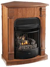 Free Standing Gas Fireplace by Windsor