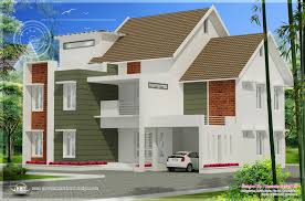 5 different house exteriors by concetto design kerala home