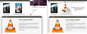 how to automatically get the movie covers on vlc playlist the