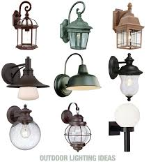 a roundup of traditional unique and globe outdoor lighting styles