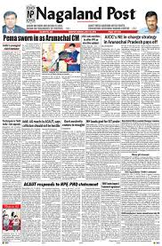 july 18 2016 by nagaland post issuu
