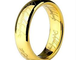 Lord Of The Rings Wedding Band by Lord Of The Rings Etsy