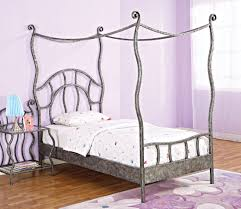 Types Of Bed Frames by Comfortable Twin Size Bed Frame Design From Metal And Wood Home