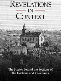 church releases historical background of doctrine and covenants