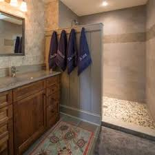 Small Bathroom Walk In Shower Designs Bouldin Creek Residence By Silverthorn Contracting And Design