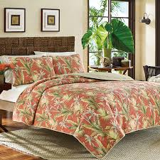 Bahama Bed Set by Bathroom Area Rug And Tommy Bahama Quilts With Wood Headboard