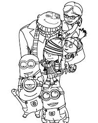 printable 57 minion coloring pages 9220 despicable minion