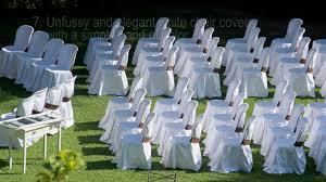 diy wedding chair covers 16 easy wedding chair decoration ideas twis weddings