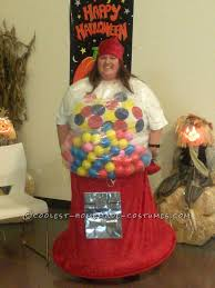 Gumball Costume Halloween Cool Homemade Gumball Machine Costume
