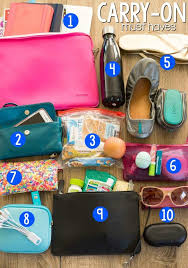 10 Must Bag Essentials What by 10 Must Carry On Essentials For Traveling For Crust