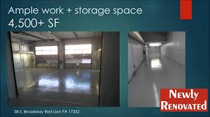 garage commercial space for rent broadway red lion garage commercial space for rent broadway red lion