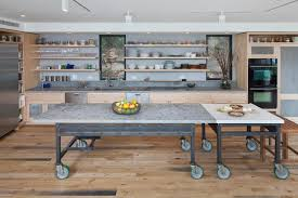kitchen island open shelving 8 it s super convenient contemporary kitchen with open shelves industrial island