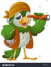 parrot pirate vector stock vector 52192999 shutterstock