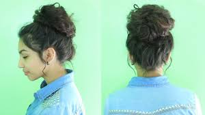 hair buns for hair easy bun tutorial
