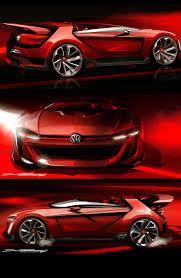volkswagen gti sports car volkswagen unveils gti roadster vision gran turismo