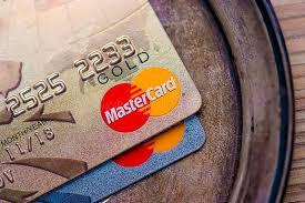 mastercard gold platinum credit card high quality editorial