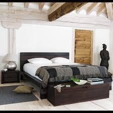 deco chambre exotique lit exotique 160x200 en manguier massif exotique lits et maison