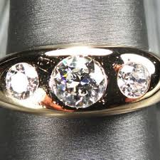 mens old rings images Best old cut diamond wedding band products on wanelo jpg