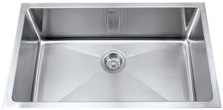 Stainless Kitchen Sink by Kraus Khu10030 30 Inch Undermount Single Bowl Kitchen Sink With 16