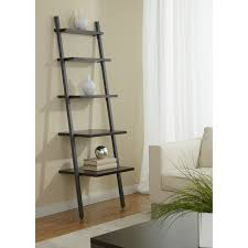 Narrow Bookcases by Furniture Mall Ladder Bookcase In White With 3 Tier For Home
