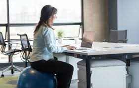 Yoga Ball As Desk Chair Stability Ball Desk Chair Why I Swapped My Desk Chair For An